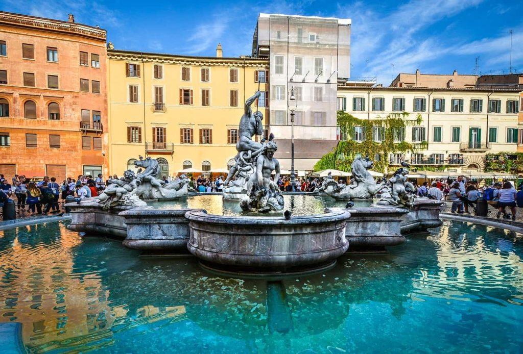 Fontaine de la Piazza Navona à Rome
