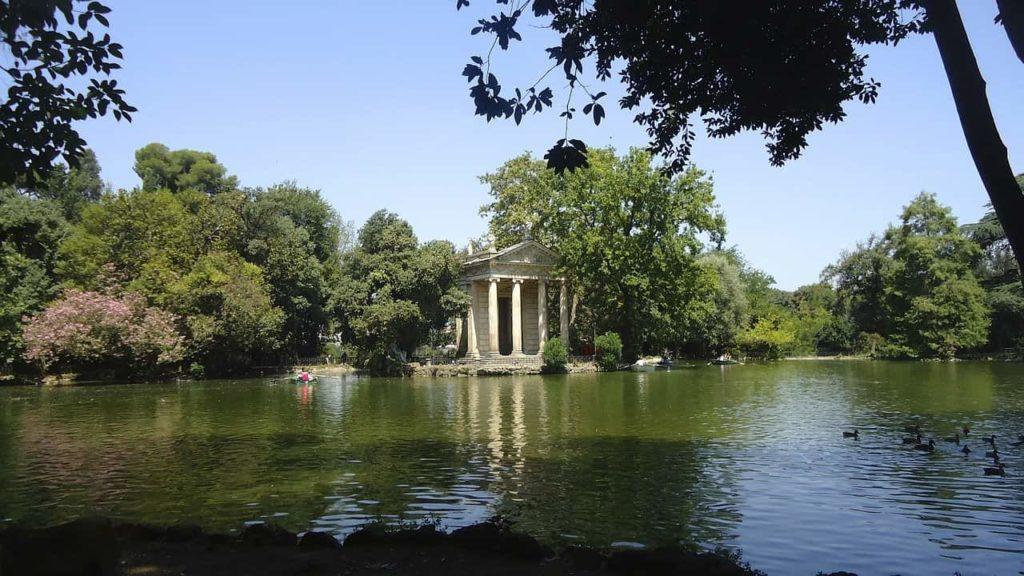 La Villa Borghèse à Rome