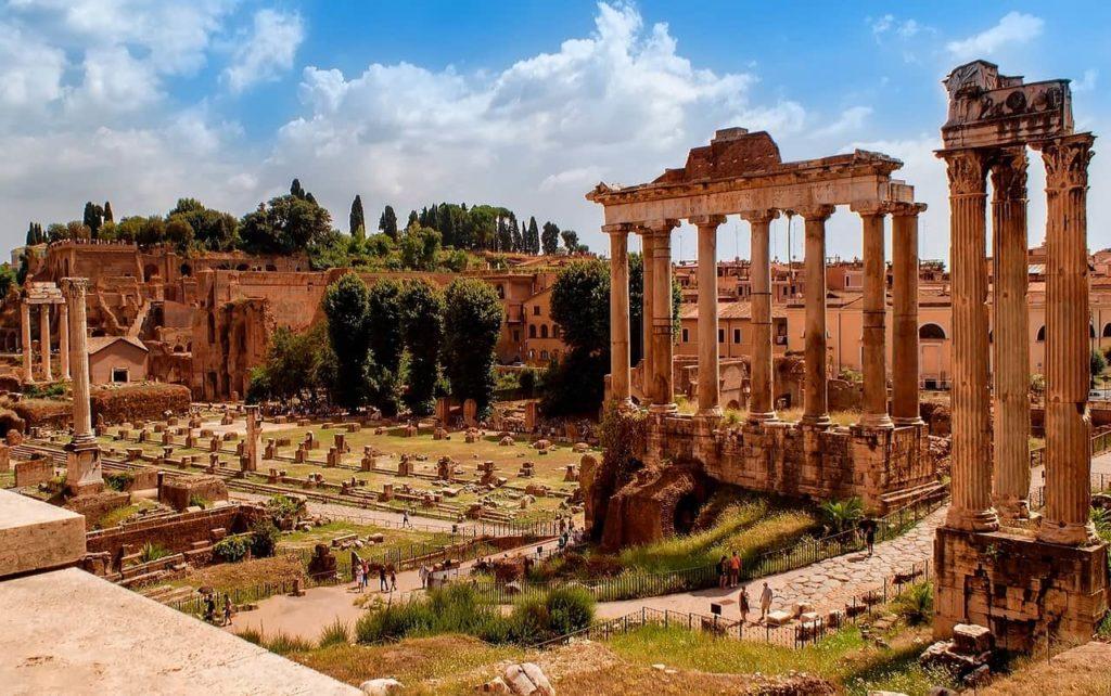 Le Forum Romain, de nombreux édifices en ruine, mais fabuleux à découvrir