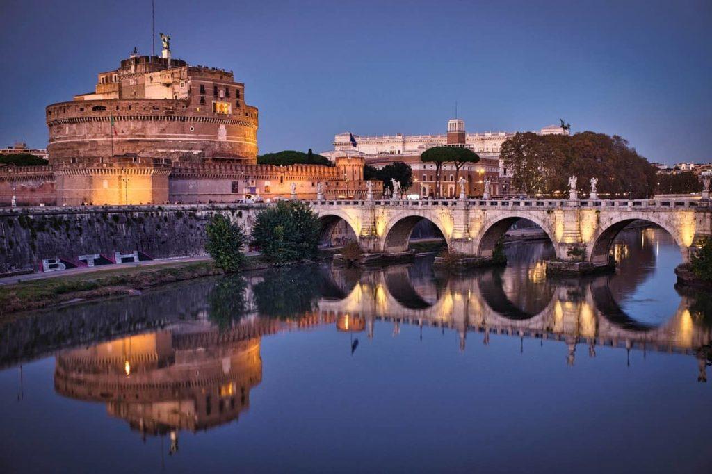 Le château Saint-Ange à Rome