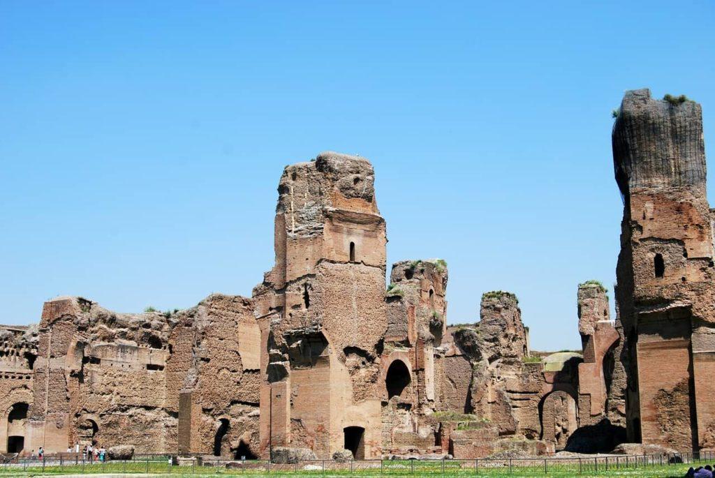 Les Thermes de Caracalla, les plus importants de Rome
