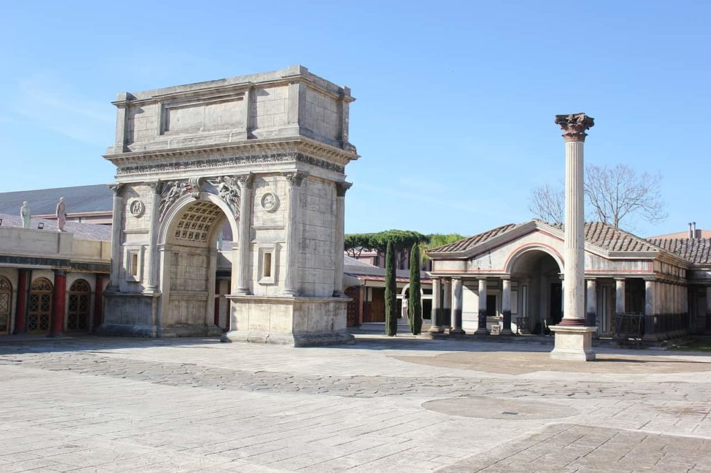 Les studios Cinecitta, le Hollywood italien