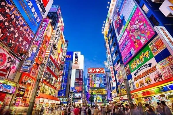Activité à Tokyo le soir : la pop culture