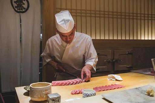 Sushi Saito les meilleurs sushi de Tokyo