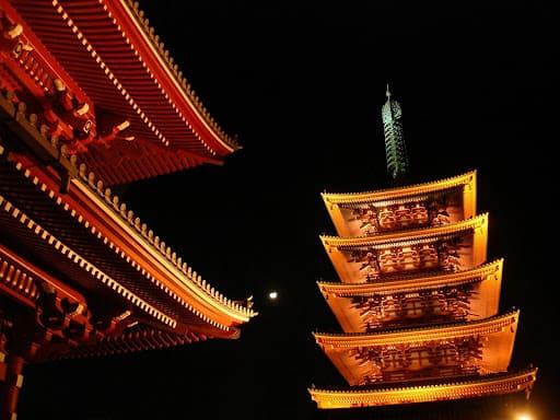 Les lieux insolites de Tokyo : Le temple Senso-ji d'Asakusa