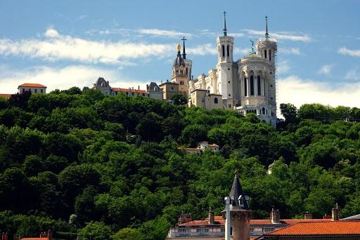 Promenade sur les collines de Fourvière en un jour un Lyon