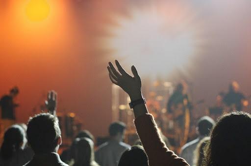 Un concert de musique à Lyon le soir