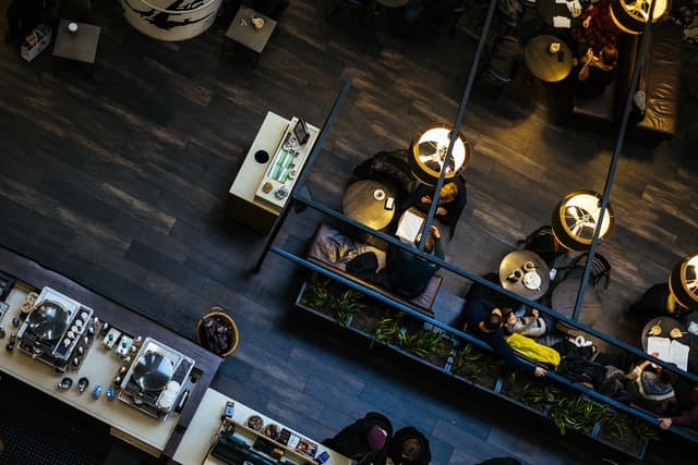 salle du meilleur restaurant de Tokyo