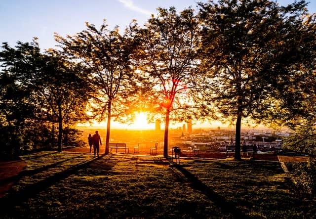 Le parc des Hauteurs, un des lieux insolites de Lyon