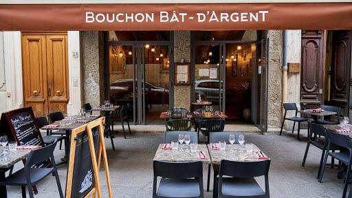 Le restaurant Bouchon Bât-d'Argent à Lyon