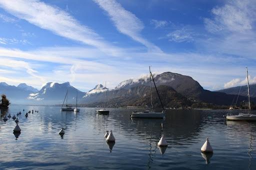 Le lac d'Annecy à découvrir en famille