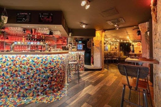 Le bar La Feria à Lyon