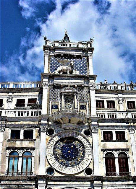 Visitez la Tour de l'horloge pour vos 3 jours à Venise