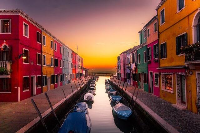 L'île de Burano pour vos 3 jours à Venise