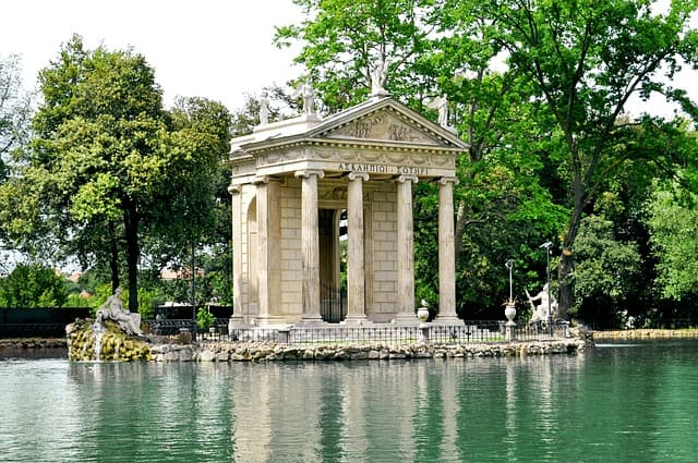 La Villa Borghèse, un lieu de calme au cœur de Rome