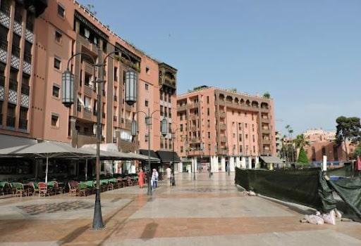 Le quartier Guéliz, un quartier moderne de Marrakech