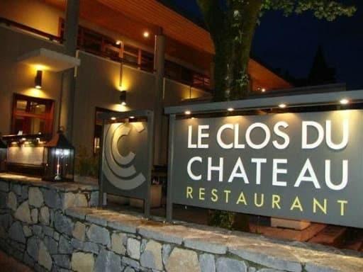 Le restaurant le Clos du Château à Annecy