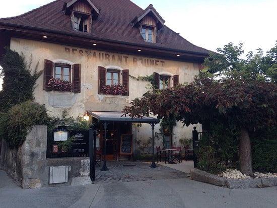 Le restaurant le Café Burnet à Annecy