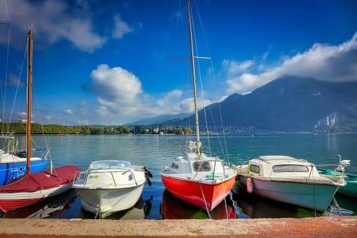 Aller au Lac d'Annecy pour finir vos vacances de 6 jours